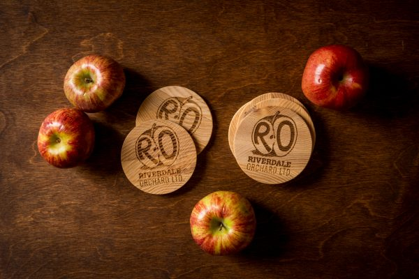 Riverdale Orchard Ash Coasters