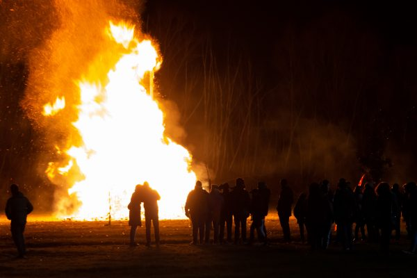 Riverdale Orchard Valentines Bonfire